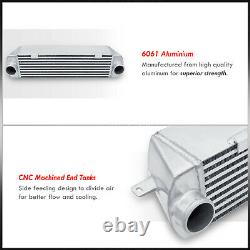 Bolt On Aluminum Performance Turbo Intercooler Bk Pour 2007-2010 Bmw 135 335i N54