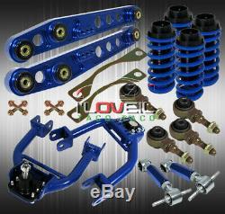 CIVIC Par Exemple, Suspension Définir L'échelle Coilover Spring + Camber Kit + Bras Inférieur De Contrôle