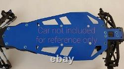 Châssis Réglé Pour Team Associated Sc5m G10 Blue No Prep Drag Racing Eliminator
