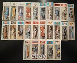 Complete Set 1973 Sugar Daddy Drag Auto Racing Nabisco Photos Tres Raresee