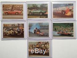 Etr Drag Officiel Champs 1971 Fleer Ensemble Complet De 63 Vintage Trading Cards