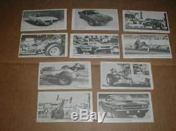Fleer Dragstrip Stickshift Drag Racing 10 Jeu De Cartes Don Garlits 1970 Superbird
