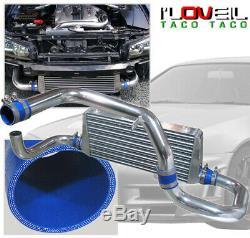 Fmic Turbo Intercooler + Bolt Sur La Tuyauterie Kit Pour Rb20 Rb25 Skyline R32 R33 R34