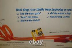 Hot Wheels 25e Anniversaire Mongoose Et Snake Drag Race Set 11644 Jamais Utilisé