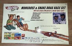 Hot Wheels Classics & Mongoose Serpent Drag Race Set H9604 Nouvelle Et Scellée