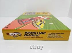 Hot Wheels Classics & Mongoose Serpent Drag Race Set Plymouth Nib 2005 Htf