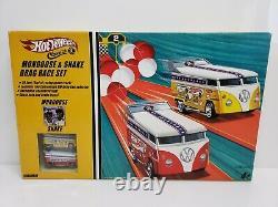 Hot Wheels Classics & Mongoose Serpent Drag Race Set Volkswagen Bus Nib 2005 Htf