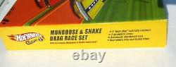 Hot Wheels Classics Mongoose & Snake Drag Race Set Autographié Par Les Deux