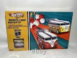 Hot Wheels Classics Mongoose & Snake Vw Drag Bus Drag Race Set 2005 Scellé