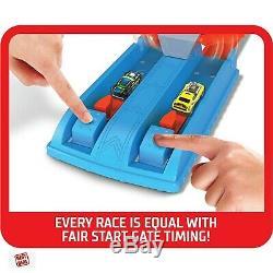 Hot Wheels Drag Race Car Piste Set For Kids Playset Toys