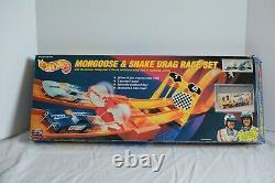 Hot Wheels Mongoose & Snake Drag Race Set 25e Anniversaire