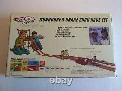 Hot Wheels, Snake & Mongoose, Vw Drag Jeu De Course De Drag Bus, 164 Échelle Moule