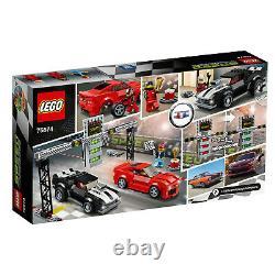 Lego 75874 Chevrolet Camaro Drag Race Speed Champions Rare Collector's Set