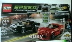 Lego 75874 Speed Champions Chevrolet Camaro Drag Race 2016 Nouveau Scellé