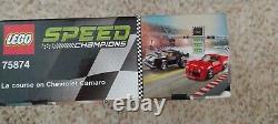 Lego Camaro Drag Race 75874 Flambant Neuf, Scellé! Retraite! , Champions De Vitesse