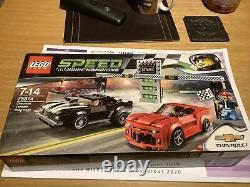 Lego Champions De Vitesse Chevrolet Camaro Drag Race 75874