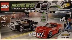 Lego Chevrolet Camaro Drag Race 75874