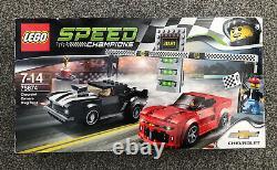 Lego Speed Champions 75874 Chevrolet Camaro Drag Race Flambant Neuf Et Scellé