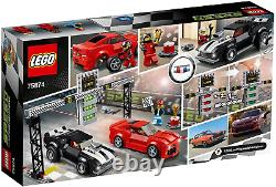 Lego Speed Champions Chevrolet Camaro Drag Race 75874