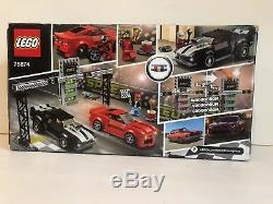 Lego Speed champions Chevrolet Camaro Drag Race 75874 Marque Nouveau 445 Pièces