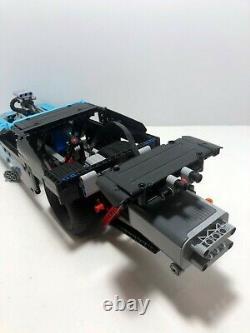 Lego Technic Race Drag Racer 42050 Avec Fonctions De Puissance. Assemblé