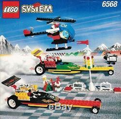Lego Ville Team Extreme 6568 Drag Race Rally New Scellés Octan Racing