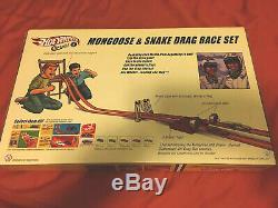 Mongoose & Serpent Drag Race Set Classics Vw Hot Wheels Autographié (ss)