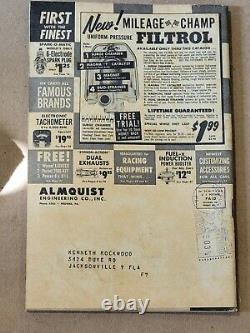 Original 1958 Almquist Hot Rod & Custom Catalog Drag Racing Nhra