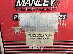Plusieurs Ensembles De Séries De Manley Platnum Ls7 Pistons Glisser Course Pro Rue