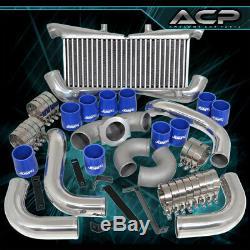 Pour 1990-1996 300zx Vg300dett Intercooler Piping Kit D'admission Adaptateurs De Filtre