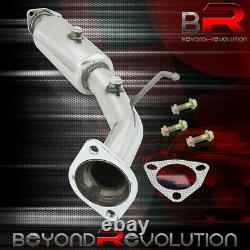 Pour 2006-2011 CIVIC Si 2/4 Dr Fa K20 2.25 Header Down Pipe Stainless Steel Set