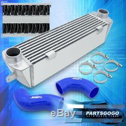 Pour 2007-2010 Bmw E90 135i E92 335i Bolt Sur L'aluminium Intercooler Coupleurs Bleu