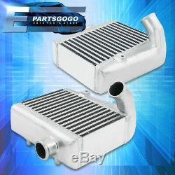 Pour 90-96 Nissan 300zx Z32 3.0l Vg30 Twin Turbo Smic Montage Latéral Intercoolers Kit