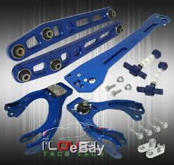 Pour 92-95 CIVIC Par Exemple, Bleu Suspension Combo Set Bras De + Camber Kit + Sous-châssis