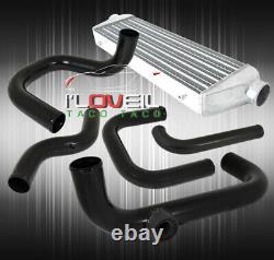 Pour 96-00 CIVIC D15 D16 Bolt On Upgrade Piping Kit+ Fmic 28x7x2.5 Intercooler