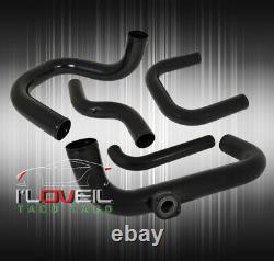 Pour 96-00 CIVIC Ek9 D15 Série B/d Turbo Chargeur En Aluminium Piping Kit Bov Adap