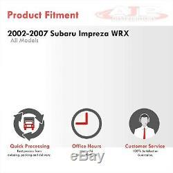 Remplacement De Base Tmic Top Mount Aluminium Intercooler Pour 2002-2007 Wrx Ej20 Ej25