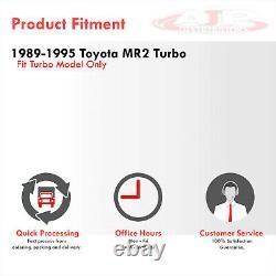 Side Mount Aluminium Turbo Race Intercooler Pour 1989-1995 Toyota Mr2 Sw20 3s-gte