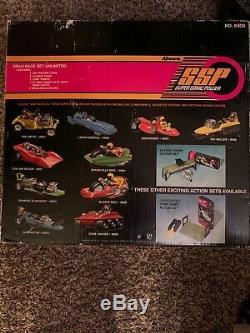 Ssp Drag Race Set Illimité Kenner Boxed # 8900 Lac Spécial # 8954 / Sidewinder # 8952