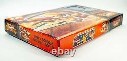 Super Rare 2009 Hot Wheels Snake - Mongoose Drag Race Track Set Nib Sealed