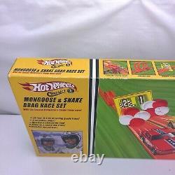 Vintage Hot Wheels Classics & Mongoose Serpent Drag Race Set