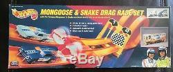 Vintage Hot Wheels Mongoose Et Serpent Jeu Drag Race