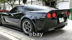 X2 Vms Racing Star Poli Drag Rims Wheels 17x10 +44 Pour Chevy Corvette C6 Z06