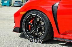 X4 Vms Racing V-star Drag Rims Wheels 18x9.5 +35 Pour Nissan 370z / Infiniti G37